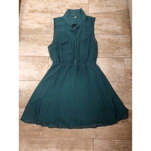 Green H&M dress